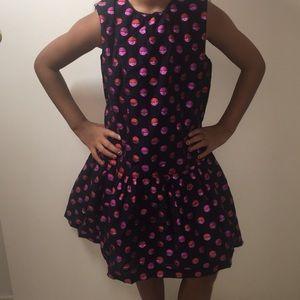 Gymboree girls drop waist party dress.